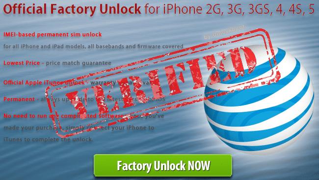 IMEI Unlock AT&T iPhone 5