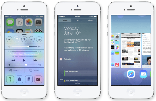 Install iOS 7 on iPhone 5