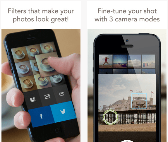 iOS 7 Analog Camera app