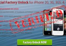factory unlock iOS