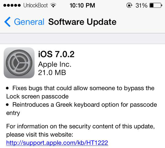 IOS 7.0.2 Download link
