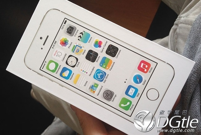 iPhone 5S Unboxing pack