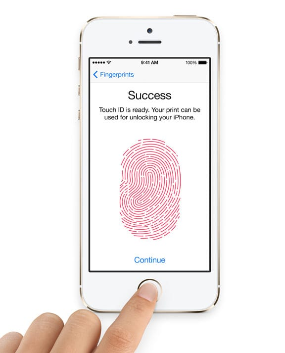 Fingerprint Sensor iPhone 5S