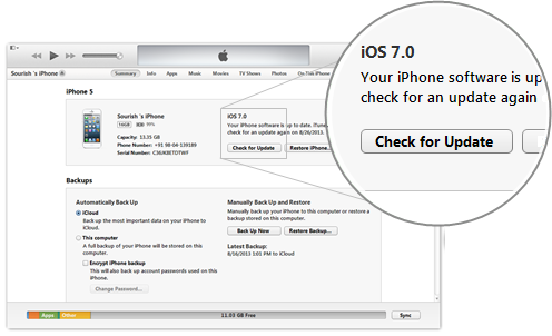 Download IOS 7.0.2 iTunes iPSW
