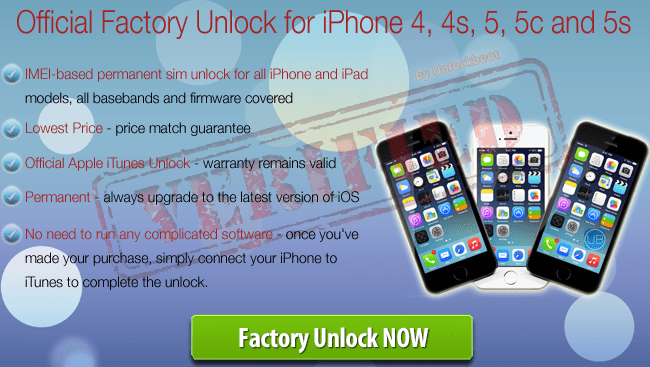 iPhone 5S Unlock