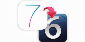 downgrade iOS  iOS