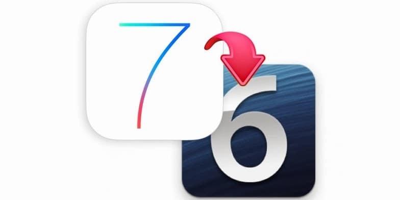 Downgrade iOS 7 to IOS 6.1.2