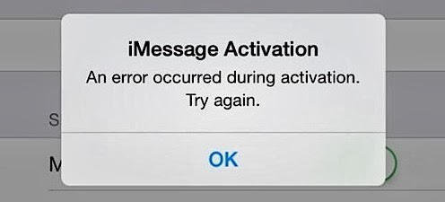 fix imessage not working