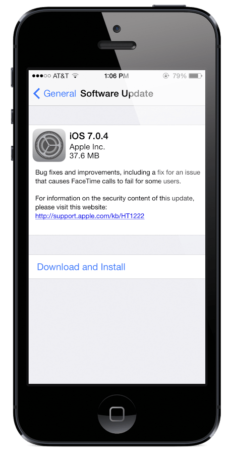 Install IOS 7.0.4 download