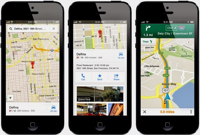 download Google Maps for IOS