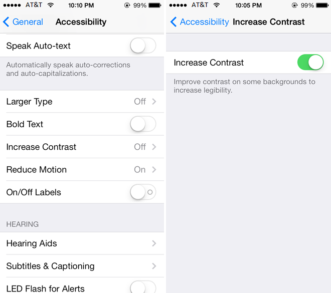 Blur Efect Disable IOS 7