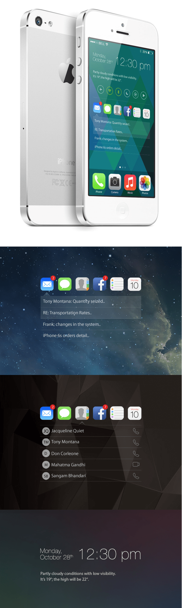 Apple iOS Concept