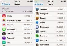 iphone storage space