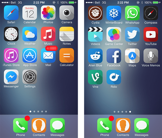 Solstice Theme for iOS 7