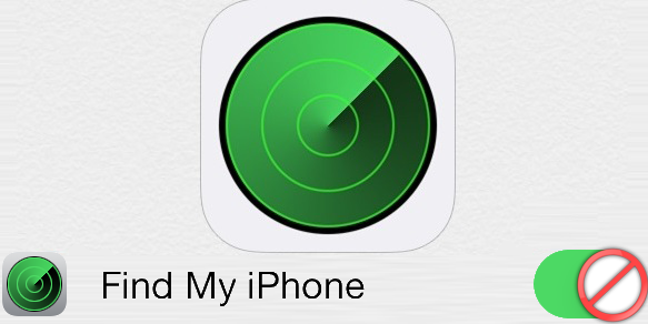 Disable Find My iPhone Without Password