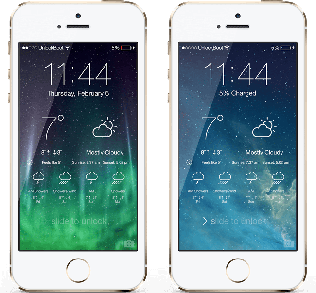 Live Weather Widget for iPhone
