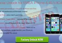 Unlock EMEA iPhone
