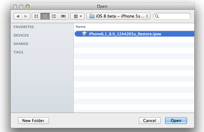 how to download ios firmware