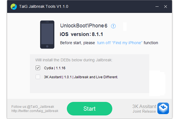 Taig Jailbreak Download