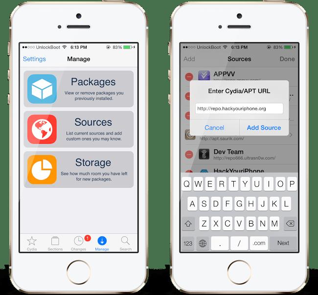 Install AppSync iOS 8