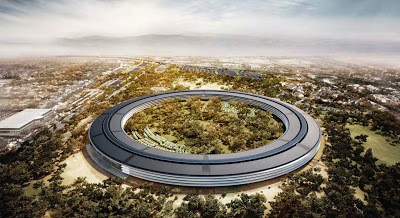 apple campus 2 arhitect