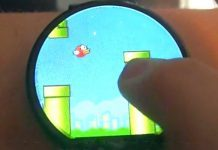 flappy bird smart watch