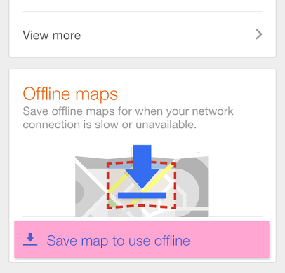 download google maps offline iphone