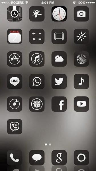 iOS 8 Theme