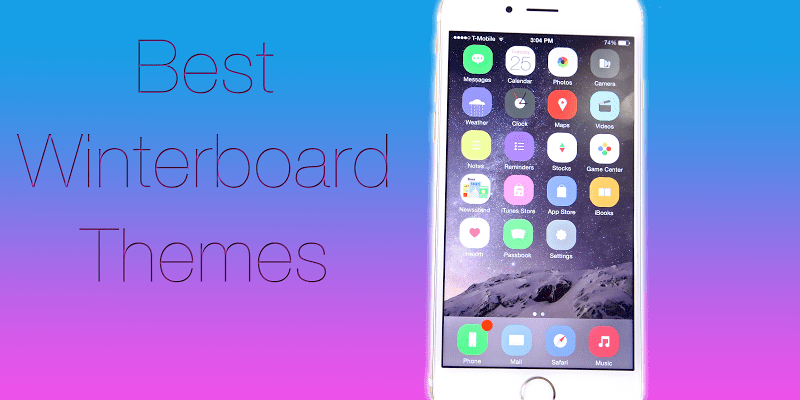 best Winterboard themes