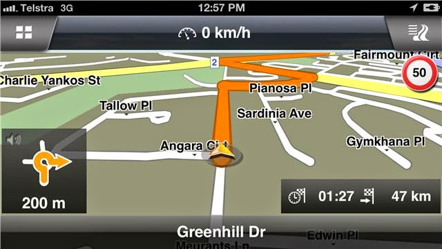 offline gps iphone
