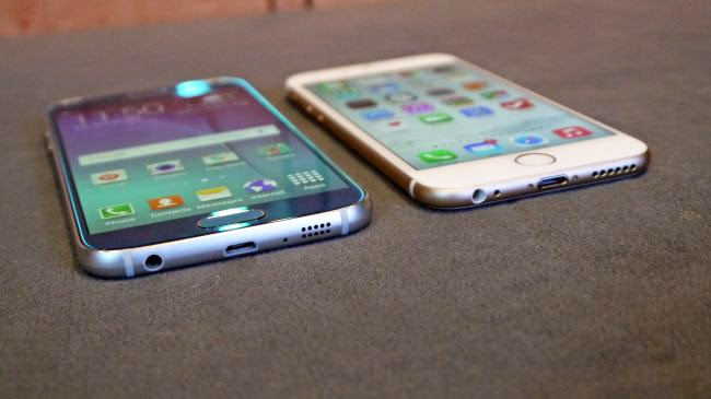 Galaxy S6 vs iPhone 6 Camera