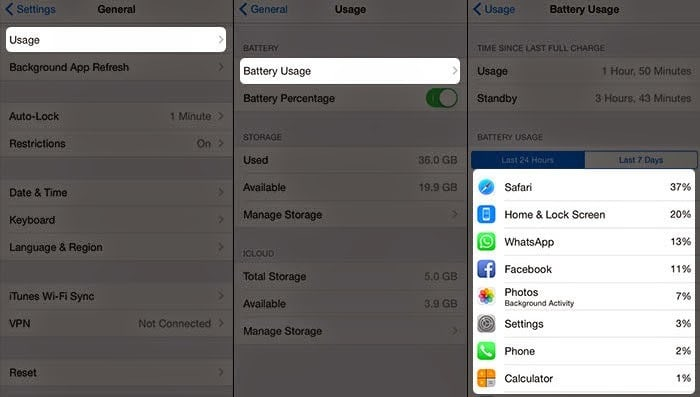 battery fix iOS 8.2