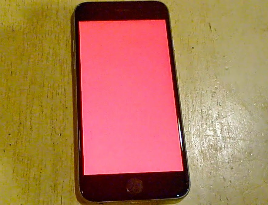 iphone red screen how to fix screen of on iphone 6 6s 7 5 5s 12182