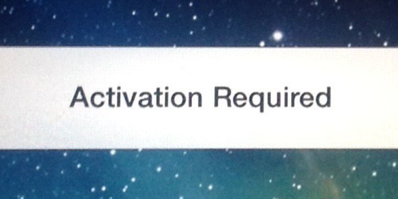 iPhone Activation Required