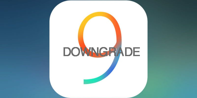 Downgrade iOS 9 to 8.3