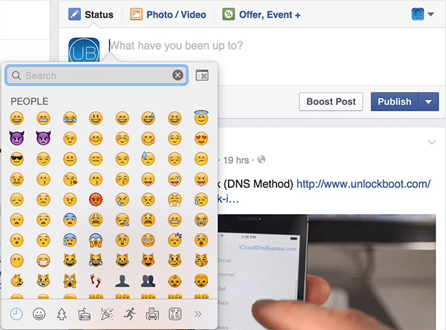 Use Emoji Mac
