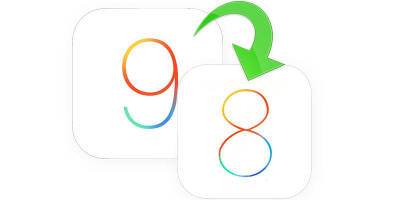Downgrade iOS 9 to iOS 8.4