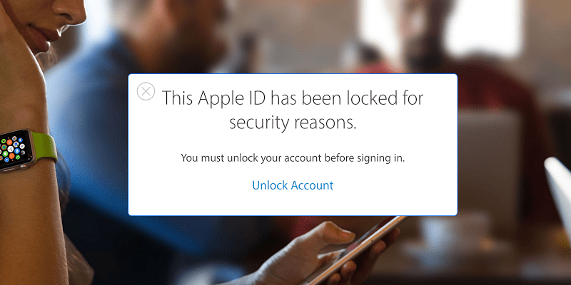 disabled apple id