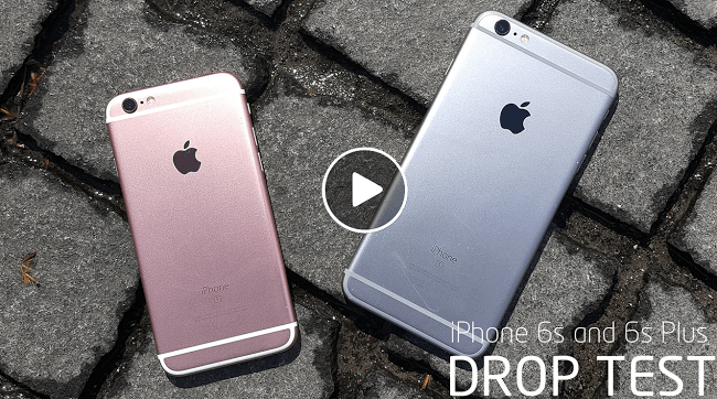 iPhone 6S Drop test