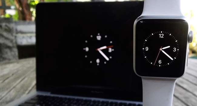 Apple Watch Screensaver Mac