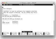 edit hosts mac
