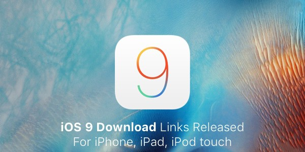 Download iOS 9 IPSW