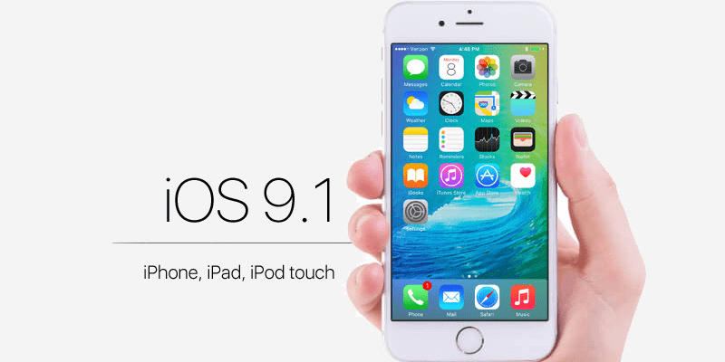 Download iOS 9.1 IPSW