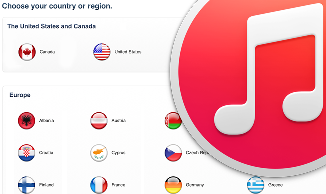 change apple id country