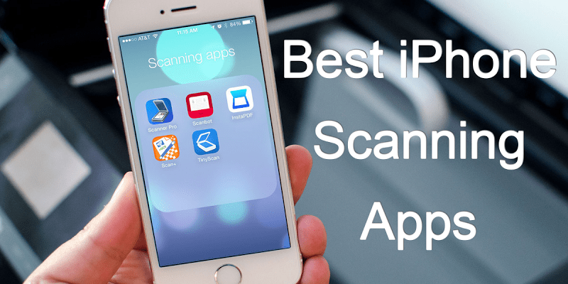 Document scanning App for iPhone