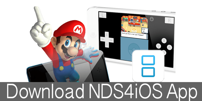 Download NDS4iOS for iPhone Without Jailbreak on iOS 12 - 11