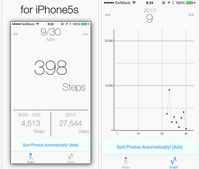 Download Pedometer App for iPhone