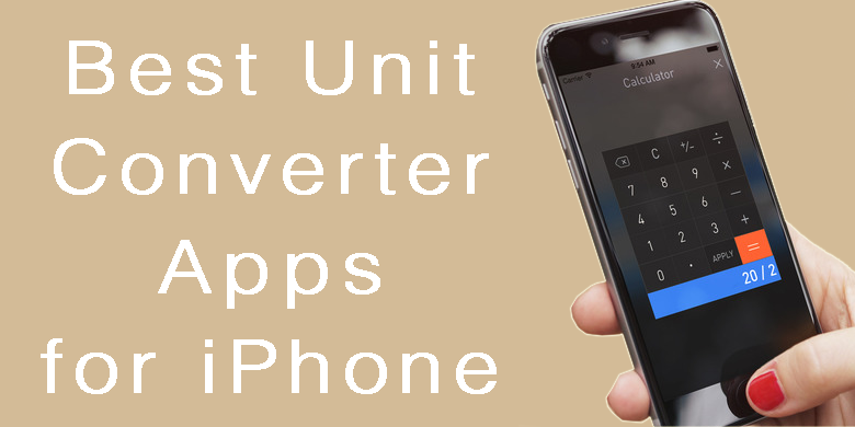 best iphone apps free top 8 free unit converter apps for iphone 2018 7801