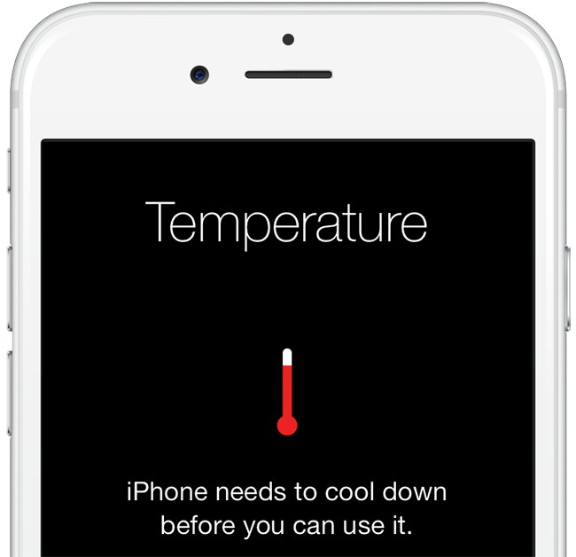 iphone overheating while charging