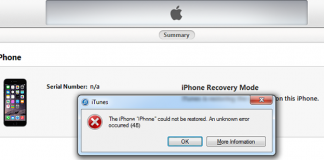 itunes error  fix